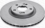 Disco de Freio Ventilado sem Cubo - Hipper Freios - HF 325E - Par