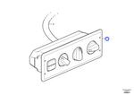 Painel de Controle do Ar Condicionado - Volvo CE - 15155940 - Unitário