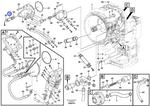Tubo do Distribuidor de Óleo - Volvo CE - 11144081 - Unitário