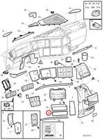 PLACA DA TAMPA - Volvo - 8189489 - Unitário