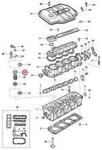 Retentor Prato Superior Das Válvulas Do Motor - Original Chevrolet - 90169987 - Unitário