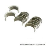 Bronzina de Mancal - 0,25mm - MWM - 622884300037 - Unitário
