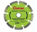 Disco de Corte Diamantado e Segmentado 180mm - Cortag - 61618 - Unitário