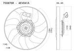 Eletroventilador - Valeo - 700875R - Unitário