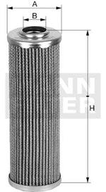 Elem. Filtrante do Óleo Hidráulico - Mann-Filter - H710/1x - Unitário
