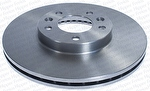 Disco de Freio Ventilado sem Cubo - Hipper Freios - HF 15F - Par