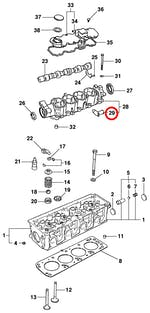 Cotovelo da mangueira de ventilação - Original Chevrolet - 90234137 - Unitário