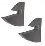 Suporte para Prateleira Concept Cinza 7,2 x 2,2 x 7,2cm Cinza - Prat-K - 8531003 - Unitário