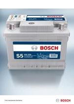 BATERIA DE PARTIDA - S5X 55E - Bosch - 0092S58095 - Unitário