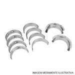 Bronzina do Mancal - Metal Leve - SBC182J 0,50 - Unitário