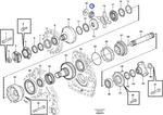 Engrenagem Lateral do Diferencial - Volvo CE - 17259282 - Unitário