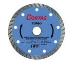 Disco de Corte Diamantado Turbo 180mm - Cortag - 61614 - Unitário