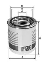 Filtro Secador - Mann-Filter - TB1374X - Unitário