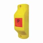 Interruptor Universal Parada Solicitada para Ônibus Amarelo 12V/24V - Chave Comutadora - DNI - DNI 8803 - Unitário