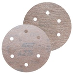 Disco de lixa seco A275 grão 320 152mm c/ 6 furos - Norton - 66261086337 - Unitário