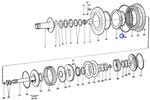 Anel de Vedação - Volvo CE - 11989822 - Unitário