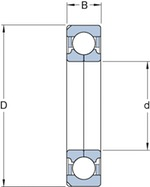 Rolamento de Esferas de Contato Angular - SKF - QJ 218 N2MA - Unitário