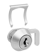 Fechadura para Móveis em Aço com Lingueta Niquelada 13,5 x 16mm