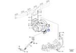 Kit do Turbocompressor - Volvo CE - 17225060 - Unitário