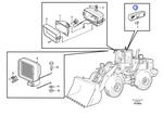 Lâmpada Interna - Volvo CE - 11039292 - Unitário