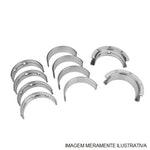 Bronzina do Mancal - Metal Leve - SBC182J 1,00 - Unitário