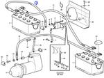 Cabo da Bateria - Volvo CE - 11100936 - Unitário