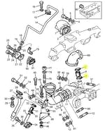 Abraçadeira de Fixação do Filtro de Ar - PERKINS - 21825199 - Unitário