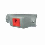 Interruptor de Parada Solicitada para Ônibus 12/24V Contato N.A c/ Plano Horizontal Arrendondado - DNI - DNI 8814 - Unitário
