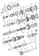 Porca da flange - Original Chevrolet - 94604265 - Unitário