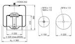 Mola Cilíndrica - Contitech - 62442 - Unitário