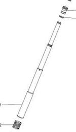 Condutor Telescópico - AGR Peças - AGR Peças - 25075701 - Unitário