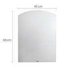 Espelho Jasmim 45 x 60cm - Astra - EPF/J - Unitário