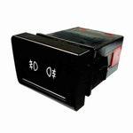 Chave Comutadora de Luz para Farol de Neblina Audi/Vw 5U09415351Fr - 6 Terminais 12V - DNI - DNI 2168 - Unitário