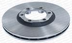 Disco de Freio Ventilado sem Cubo - Hipper Freios - HF 200 - Par