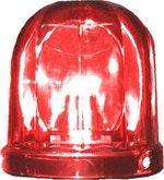 Lente Vermelha para Sinalizador Visual Rotativo - DNI - DNI 4025-VM - Unitário