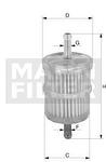 Filtro Blindado do Combustível - Purolator - F1055 - Unitário
