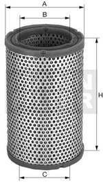 Filtro de Ar - Mann-Filter - C 27 830 - Unitário