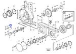 Arruela Estranguladora da Tubulação de Óleo do Câmbio - Volvo CE - 17342619 - Unitário