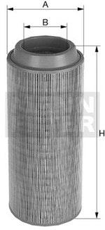 Filtro de Ar - Mann-Filter - C15300 - Unitário