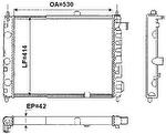 Radiador de Resfriamento - Valeo - TA082001R - Unitário
