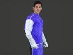 Avental de raspa ignifugado azul, Com forro, mangas de raspa ignifugada - Zanel - Zanel - AVBI-12060MRCF - Unitário