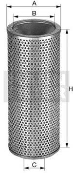 Filtro de Óleo do Sistema Hidráulico - Mann-Filter - H1142 - Unitário