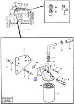 Suporte do Filtro de Refrigeração - Volvo CE - 11993236 - Unitário