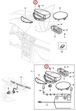 Moldura Redonda Capa Superior Do Painel De Instrumentos C/ Tid - Original Chevrolet - 13125516 - Unitário