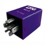 Relé Temporizador dos Vidros Elétricos Audi / Vw 547959753A - 12V 6 Terminais - DNI - DNI 0363 - Unitário
