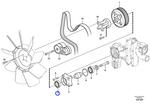 Rolamento de Esferas - Volvo CE - 21068165 - Unitário