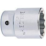 """Soquete de Encaixe 3/4"""" com Perfil Estriado de 27mm - Belzer - 206003BR - Unitário"""