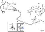 Ancoragem do Controle de Parada - Volvo CE - 1136551 - Unitário