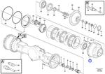 Retentor do Cubo - Volvo CE - 17216296 - Unitário