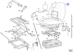Forro para Estofamento - Volvo CE - 17208799 - Unitário